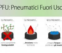 Contributo PFU: come smaltire pneumatici fuori uso