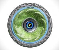 Nuovo pneumatico Goodyear Oxygene la gomma al muschio per la mobilità sostenibile