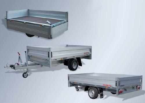 SERIE HOBBY: modelli di rimorchi per trasporto piccoli veicoli