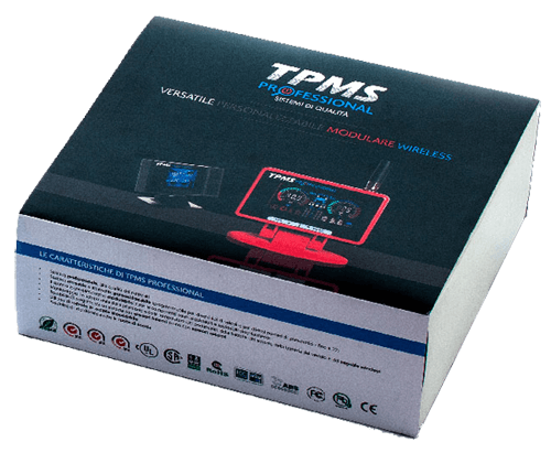 tpms sistema monitoraggio pressione gomme