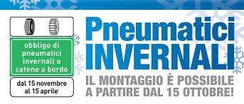Montaggio pneumatici invernali a Verona e Vicenza