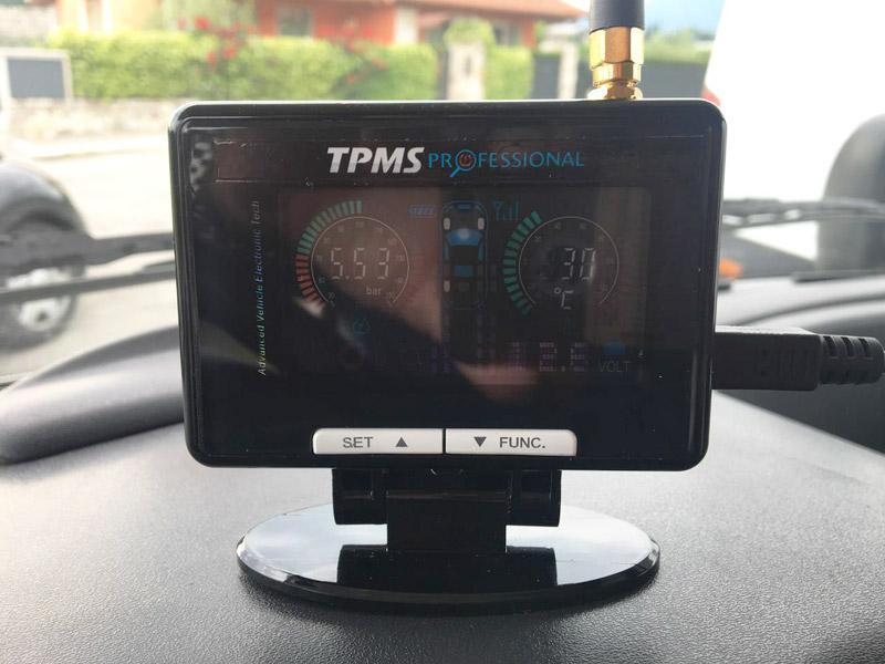 TPMS rilevatore automatico pressione  in bluetooth