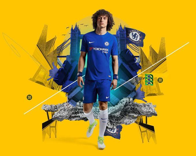 Prima maglia Chelsea 2017-2018 con Yokohama e Nike